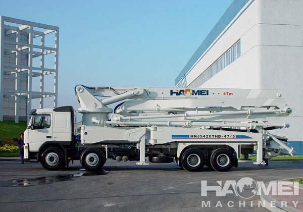 HDT5291THB-37/39/4 Concrete Pump Truck