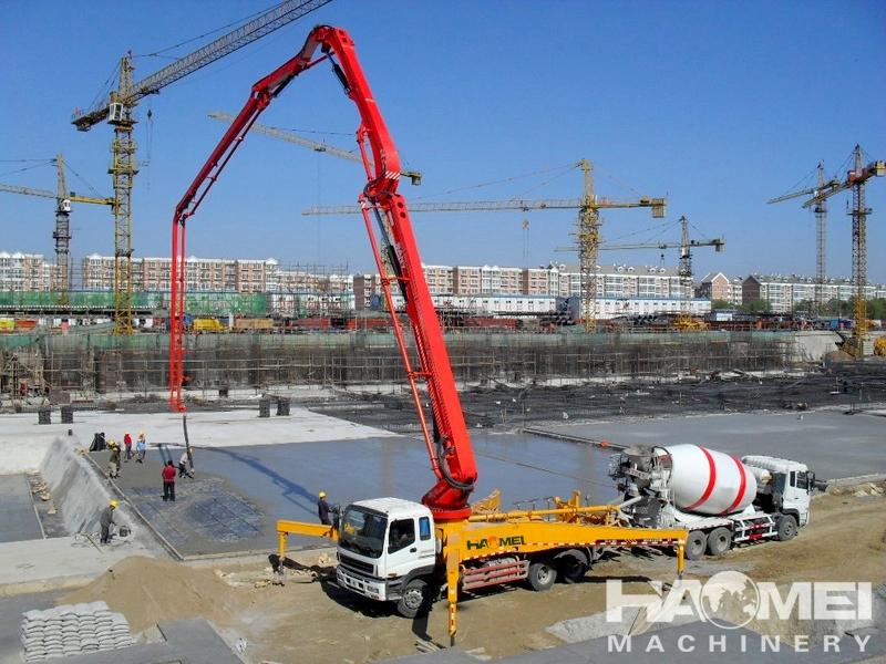 42 45 Concrete Pump Truck Haomei